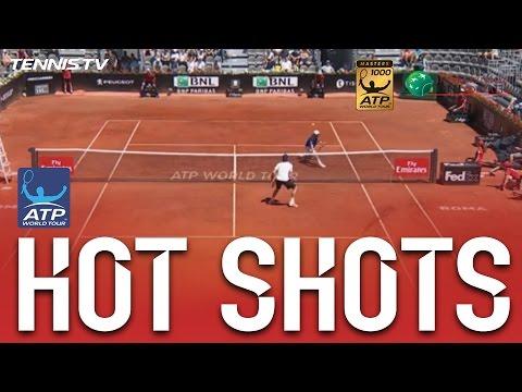 不二周助「白鯨」真的有!羅馬網球公開賽驚現「網球王子」招式?