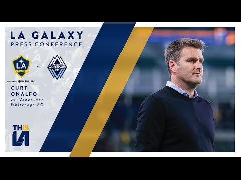 Video: Curt Onalfo vs. Vancouver Whitecaps | FULL PRESS CONFERENCE