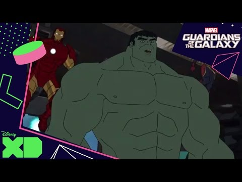 Guardians Of The Galaxy | Stayin' Alive | Disney Xd