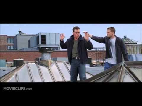 Infernal Affairs vs. The Departed (rooftop scene)