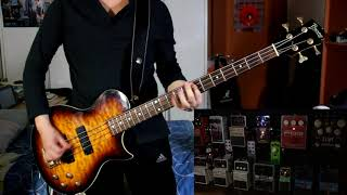 Royal Blood - How Did We Get So Dark? ( Bass + Effect cover )