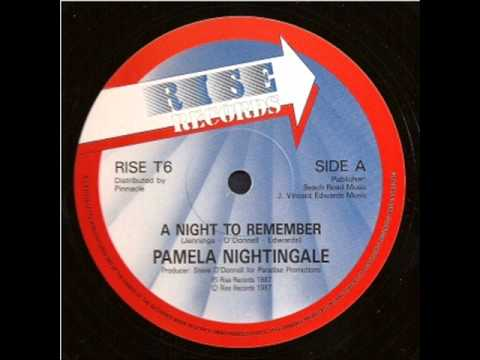 Pamela Nightingale   A Night To Remember  12'' Extended