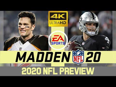 Tampa Bay Buccaneers @ Las Vegas Raiders - NFL 2020 Week 7 - Madden Simulation - 4K
