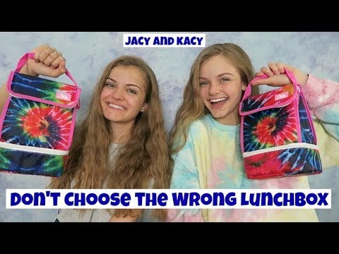 Family quotes - Don't Choose the Wrong Lunchbox Challenge ~ Jacy and Kacy