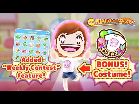 Go Head-to-head In The Kitchen! COOKING MAMA Let's Cook!