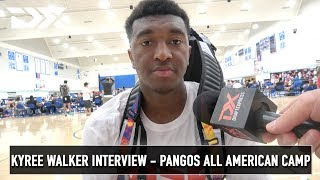 Kyree Walker Interview - Pangos All American Camp