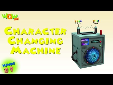 Video Character Changing Machine - Motu Patlu in Hindi - 3D Animation Cartoon for Kids download in MP3, 3GP, MP4, WEBM, AVI, FLV January 2017
