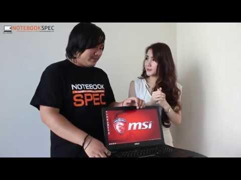 โฉมใหม่!!! เมื่อสองพิธีกรสุดแสบพาไปรู้จักกับ MSI GE62 Apache Pro