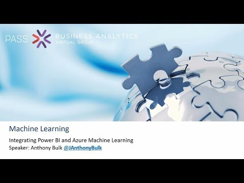 Power BI And Azure Machine Learning