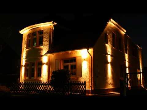 s`luce STEEL Aussen Wandleuchte Up/Down Lichteffekt, Licht-Design Skapetze