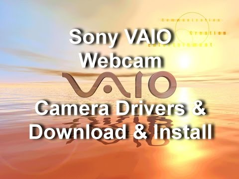 how to on camera in sony vaio laptop