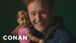 Video Conan Visits The American Girl Store MP3, 3GP, MP4, WEBM, AVI, FLV Oktober 2018