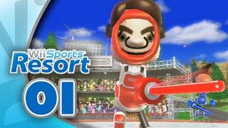 Wii Sports Resort: Part 01  Swordplay - Duel (4-Player)