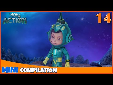 Vir The Robot Boy   Mini series   Compilation - 14   3D cartoon for kids   WowKidz Action