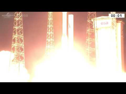 Ракета с украинским двигателем вывела спутник на орбиту