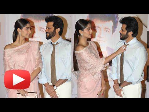 Sonam Kapoor Anil Kapoor Unveiled 'Mere Papa'