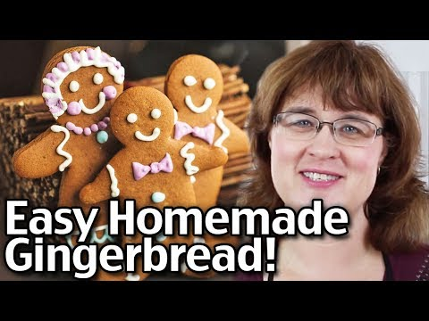 How To Make Easy Homemade Gingerbread!