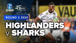 Highlanders v Sharks Rd.2 2020 Super rugby video highlights | Super Rugby Video Highlights