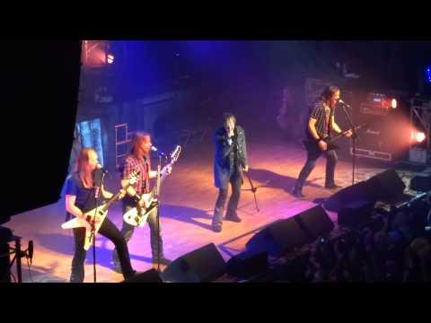 Edguy - 1. Intro+Love Tyger+Out Of Vogue - Live @Live Music Club, Trezzo Sull'Adda (It), 07.10.2014 (видео)
