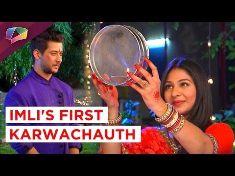 Imli celebrates her first Karwachauth in Udaan