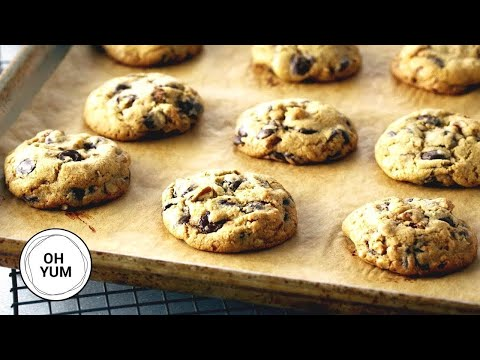 The Best Chocolate Chip Cookie Recipe Ever! | Oh Yum with Anna Olson