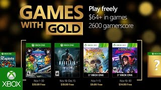 Games With Gold di novembre