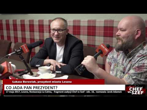 Wideo1: Prezydent Leszna od kuchni