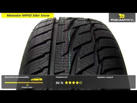 Youtube Matador MP92 Sibir Snow 225/45 R17 94 V XL FR Zimní