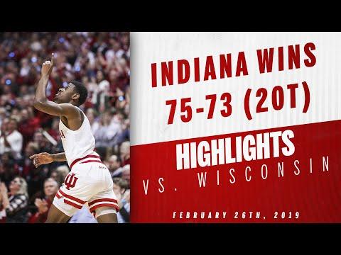IUBB - IU vs. Wisconsin Highlights 02.26.19