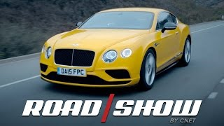 Pampered muscle: Bentley Continental GT V8 S by Roadshow