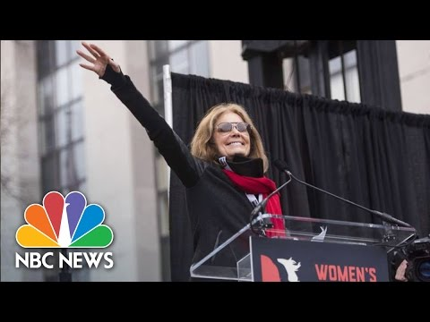 Gloria Steinem: 'We Must Put Our Bodies Where Our Beliefs Are' | NBC News