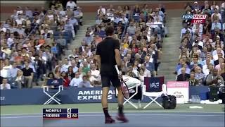 Hi everyone, I'm here with a new video of an amazing match between Gael Monfils and The greatest of all time Roger federer.Hope you will enjoy.Don't forget to suscribe.