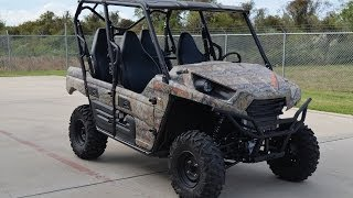 5. $13,799:  2014 Kawasaki Teryx4 Camo  ON SALE NOW!  Overview and Review