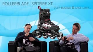 Відео огляд дитячої моделі Rollerblade Spitfire G 2015 (англійською)