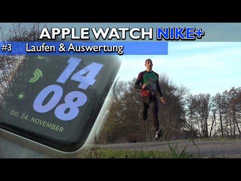 Apple Watch Nike+ im Test: Laufen, Auswertung & Herzfrequenz-Vergleich [deutsch] 4K #3