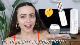 WTF...BECCA *ZERO* PIGMENT VIRTUAL FOUNDATION - Hit or Miss?!?! by Kathleen Lights