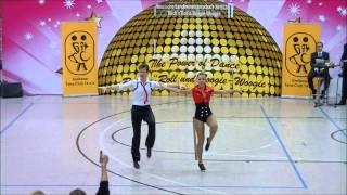 Elisabeth Kleinstück & René Kleinstück - Landesmeisterschaft Hessen 2013-14