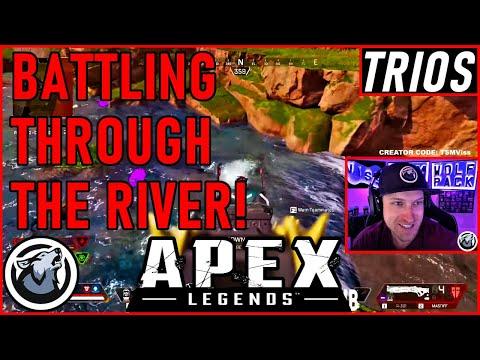 BATTLING THROUGH THE RIVER! VISS APEX LEGENDS SEASON 5