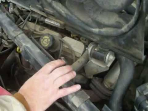 99 Pontiac Grand Prix GT Radiator Replacement