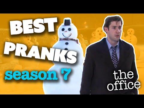 BEST PRANKS (Season 7) - The Office US