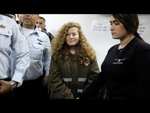 Trotz Deal: Palästinenserin Ahed Tamimi (17) muss 8 M ...