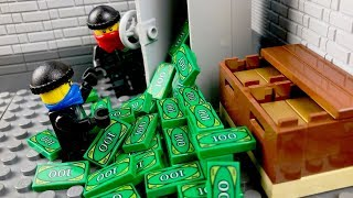 Video LEGO Bank Robbery 💰 The Story of one GANG 💣 MP3, 3GP, MP4, WEBM, AVI, FLV Juni 2019
