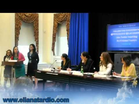 Ver vídeo Down Syndrome: Eliana Tardio's speech at the White House