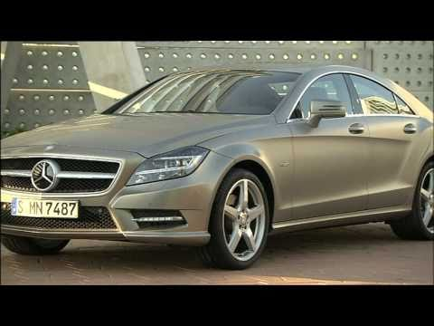 Mercedes-Benz CLS-Class Highlights Paris Motor Show 2010