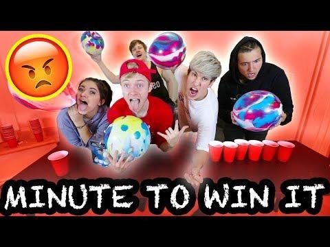 EXTREME MINUTE TO WIN IT CHALLENGE | Couple Vs. Couple (видео)