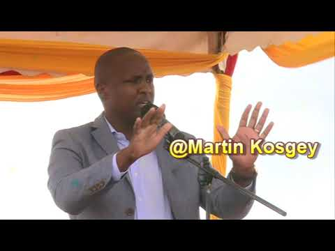 Alfred Keter Full Speech At Kapkatet To William Ruto