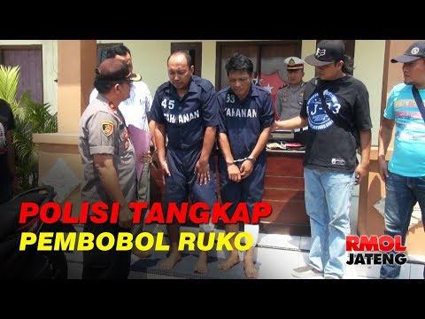 Dorr, Pelaku Pembobol Ruko di Semarang Ditangkap