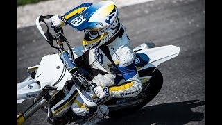 6. Awesome Husqvaran FS 450 2018 with the most powerful Husqvarna 450 Supermoto engine ever developed