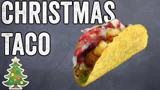 Christmas Taco Recipe by  My Virgin Kitchen