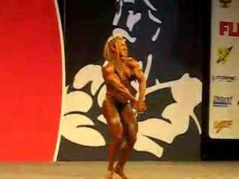 Хезер Полики-Армбраст на 2007 Ms. Olympia